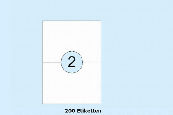 Druckeretiketten HEI026
