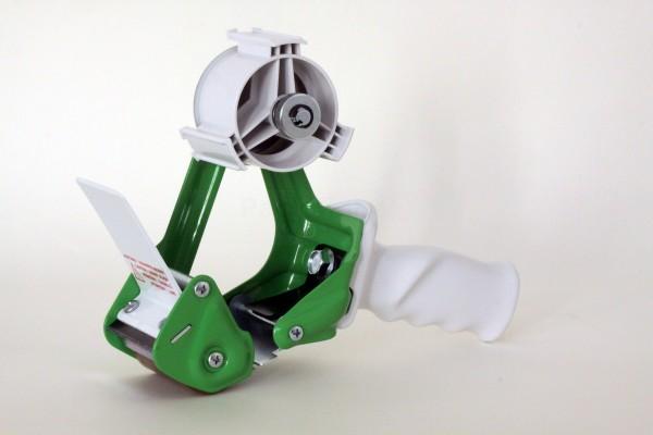Handabroller für Klebeband Metall Grün, HAR1GR