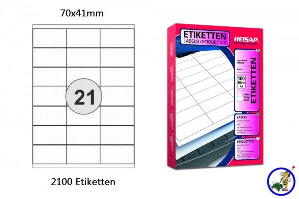 Druckerlabel HEI012