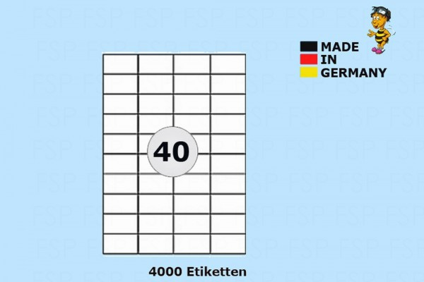 Druckeretiketten HEI004