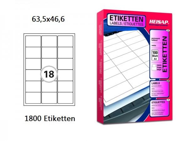 Druckeretiketten HEI007