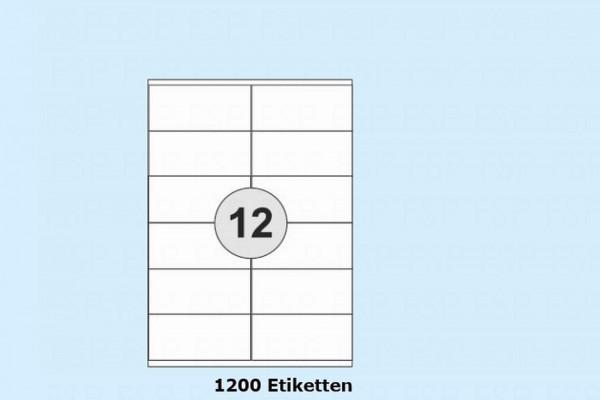 Druckeretikett HEI021
