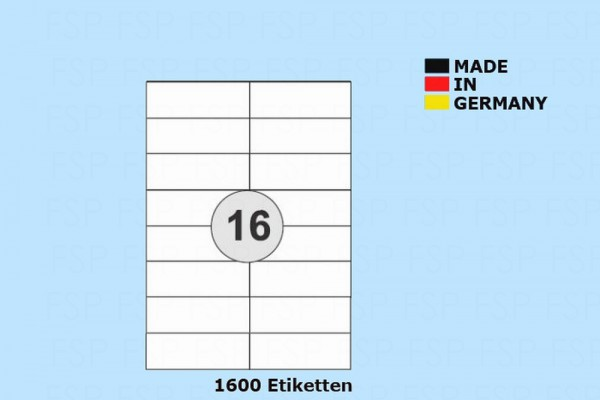 Druckeretiketten HEI016