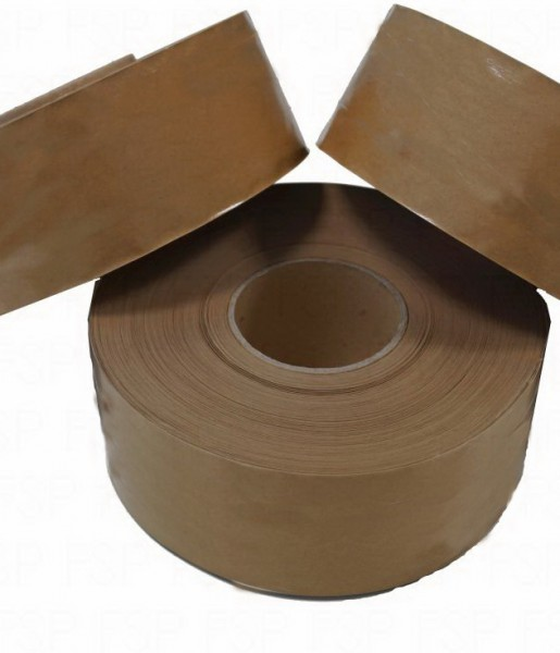 Papierklebeband Nassklebend faserverstärkt 70mm x200m, KB-NK170